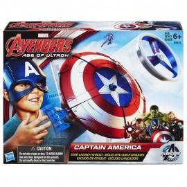 Capitan America - Scudo Deluxe Capitan America lancia dardi Nerf
