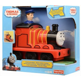 Trenino Thomas linea Press & Go, James, Fisher Price T2818-T1468
