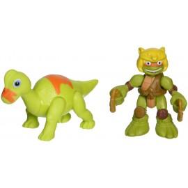Half Shell Heroes Dino Michelangelo and Brachiosaurus TUH00000