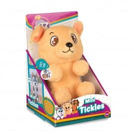 Club Petz , Mini Tickles solletico cane marrone chiaro di IMC Toys