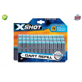 Dardi Refill X-Shot di Grandi Giochi 46024