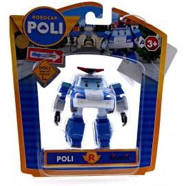 ROBOCAR POLI  - POLI   - 83056 MAGICAL FIGURINE - PLAY AND FUN - NON TRASFORMING 8 CM