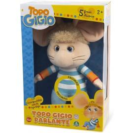 Topo Gigio Parlante in italiano, 38 cm circa, di Grandi Giochi TPG04000