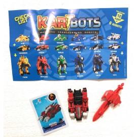 TOYSMANIA Kart Bots Kartbots Kar Tbots Trasforming Robots (Kartbots Regal) L'ORIGINALE