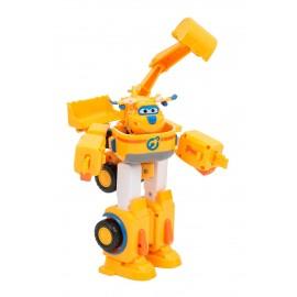 Super Wings Veicolo Robot Trasformabile, Personaggio Donnie di Giochi Preziosi UPW81000