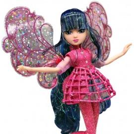 Winx Magic Cosmix Fairy Musa con Ali Olografiche di Giochi Preziosi WNX58000