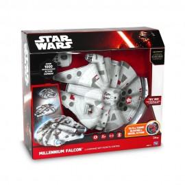 Star Wars il Risveglio della Forza - Command Millenium Falcon con Radiocomando ad Infrarossi, Lunghezza 33 cm Giochi Preziosi -