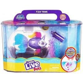 Little Live Pets- Lil DIPPERS acquario con pesce Arcobaleno , Giochi Preziosi LP100000