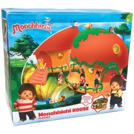Monchhichi - Playset Casa con accessori Moncicci