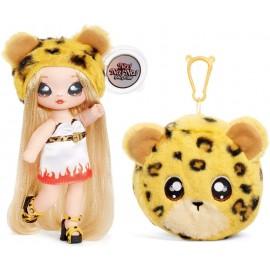 Na! Na! Na! Surprise 2-in-1 Fashion Doll And Plush Purse Series 3 – Jennel Jaguar( fiamma ) Giochi Preziosi NAA08000