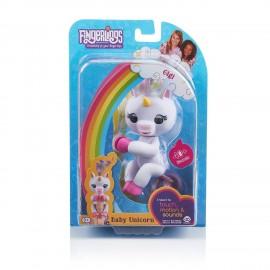 Fingerlings Gigi Baby Unicorno interattivo bianco di Giochi Preziosi
