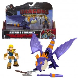 Dragons Trainer Race Of The Edge  figura ASTRID E STORMFLY 66954-3