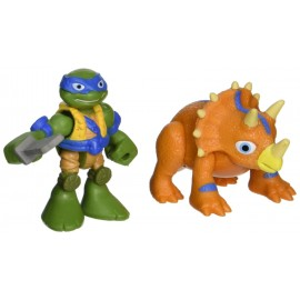 Half Shell Heroes Dino Leonardo & Triceratops TUH00000