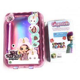 L'Originale NaNANa!! Surprise !! - Na!! Na! Na! Surprise! - Bambola con Pompon Modello ROMBO Grande + Una Simpatica Sorpresa Cappatinis [ BAMBOLINE Che Diventano Simpatiche TAZZINE ]