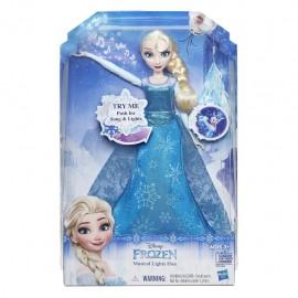 Disney Frozen - Bambola Elsa Cantante riproduce la sua canzone - 29 cm -