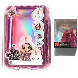 L'Originale NaNANa!! Surprise !! - Na!! Na! Na! Surprise! - Bambola con Pompon Modello Cuore + Una Simpatica Sorpresa