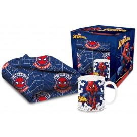 Spiderman - Uomo Ragno Spider-Man Set Tazzina e Coperta - Set Blanket And Mug