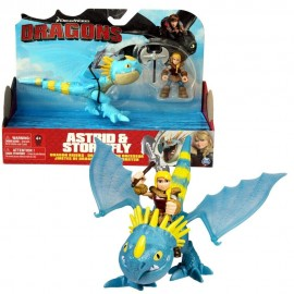 DreamWorks Dragons Trainer Astrid & Stormfly Action Figure di Spin Master