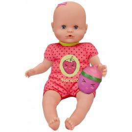 Nenuco Bambola con Biberon e Pigiama Fragola  Famosa 700012087