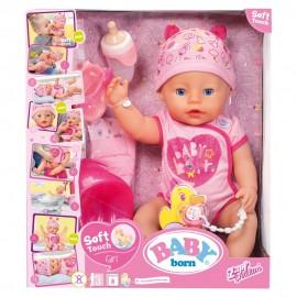 Baby Born Girl Soft  Bambola 43 cm di Giochi Preziosi BBY00000