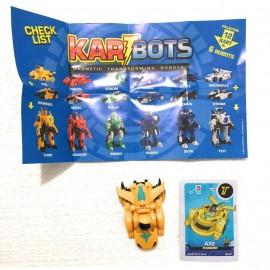 Kart Bots Kartbots Kar Tbots Trasforming Robots (Kartbots Axe)L'ORIGINALE