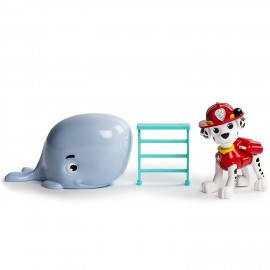 Paw Patrol PERSNAGGIO  Marshall and Baby Whale Rescue Set