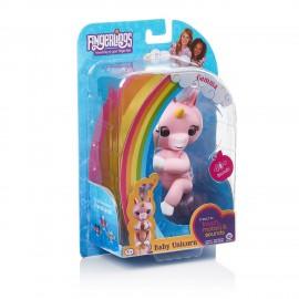 Fingerlings Gemma Baby Unicorno interattivo rosa di Giochi Preziosi