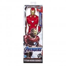 Marvel Avengers Iron Man Titan Hero compatibile con Power FX, Hasbro E3918-E3309