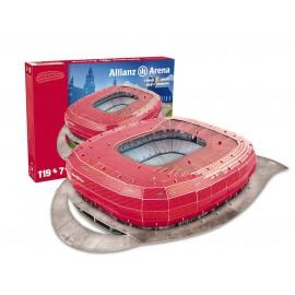Nanostad Puzzle 3D, Allianz Arena Bayern Monaco di Giochi Preziosi