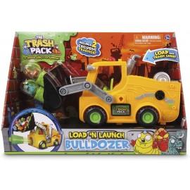 Giochi Preziosi Trash Pack, Bulldozer con Lancia Bidoni, 12359