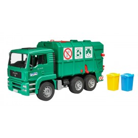Camion Trasporto Rifiuti Man Tga Verde 02753