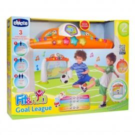 CHICCO PORTA DA CALCIO  GOAL MUSICALE 5225 - Fit&Fun Gioco, Goal League