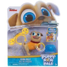 Puppy Dog Pals,  Light Up Pals - Rolly Scuba, Disney Junior