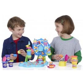 Play-Doh- Hasbro La Giostra Dei Cupcake