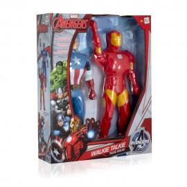 IMC Toys 390133AV1 - Gioco Avengers Walkie Talkie Figure Iron Man e Capitan America