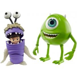 Disney Pixar Monsters & Co. Personaggi Mike Wazowski e Boo Snodabili,  Mattel GNX80 - GLX81