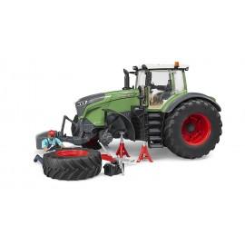 Bruder 04041 - Trattore Fendt 1050 Vario con attrezzatura meccanici e officina