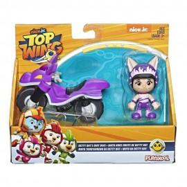 Top Wing, Betty Il Pipistrello Viola con Veicolo di Hasbro E5281