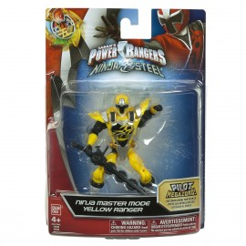 Power Rangers Ninja Steel 12.5cm Yellow Master Mode di GIG