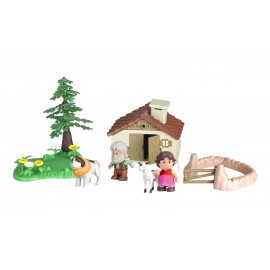 Mini bambola Heidi - Miini  Mondo Playset di Famosa 700012781