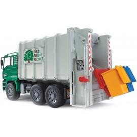 Bruder 02764, Camion trasporto rifiuti scala 1/16