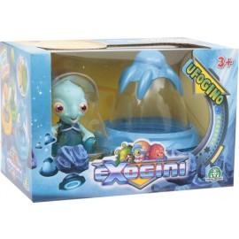 NUOVI  Exogini UFOgino - Blue UFO + Blue Exogini (Inviato da UK) Playset Ufogino e Exogino Esclusivo Octopot