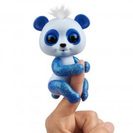 Fingerlings Baby Panda Archie, Blu con glitter