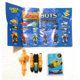 Kart Bots Kartbots Kar Tbots Trasforming Robots (Kartbots Hammer) L'ORIGINALE