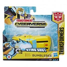 Transformers Cyberverse Sting Shot 1 Step Bumblebee E3642-E3522