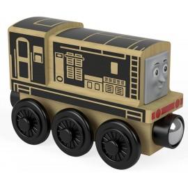 Trenino Thomas Locomotiva in Legno Diesel di Fisher-Price FHM22