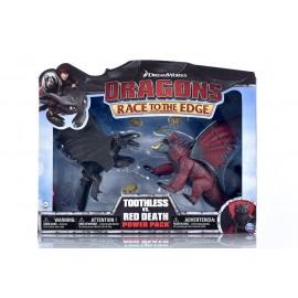 Dragons Trainer Race Of The Edge  figura SDENTATO Contro RED DEATH