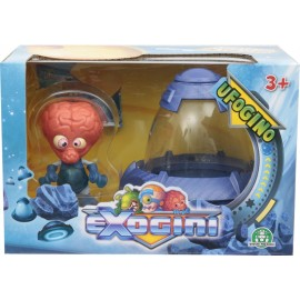 NUOVI  Exogini UFOgino - Blue UFO + Red Exogini (Inviato da UK) Playset Ufogino e Exogino Esclusivo Ultramind