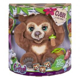 Hasbro FurReal- Cubby Il Mio Orsetto Curioso Peluche Interattivo, Hasbro E45911030 ITALIANO
