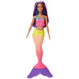 Barbie Sirena della Baia Dell'Arcobaleno - dal Mondo di Dreamtopia, FJC90 Mattel